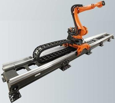 orange robotic arm attachment