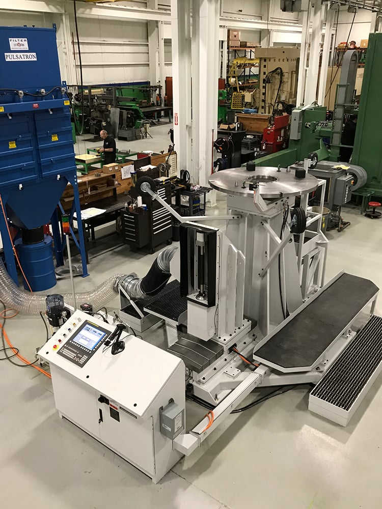 custom automated grinding machine